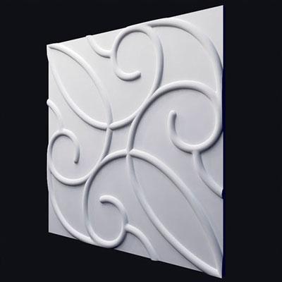 Гипсовая 3D панель «Флорис»