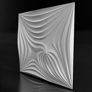Гипсовая 3D панель «Магнетис»
