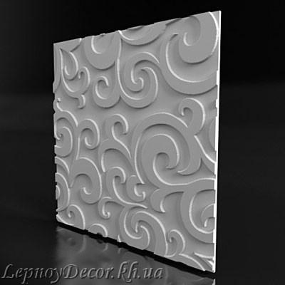 Гипсовая 3D панель «Аладдин»