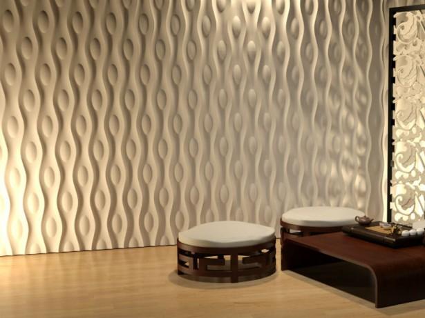 3D панели - самый привлекательный, актуальный и интересный способ оформления отделки современных интерьеров