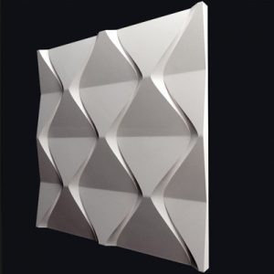 Гипсовая 3D панель «Ромбы»