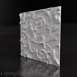 Гипсовая 3D панель «Лолита»