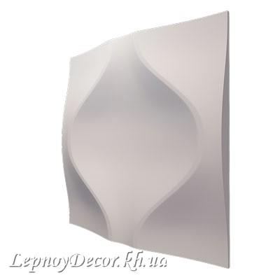 Гипсовая 3D панель «Мягкий ромб»