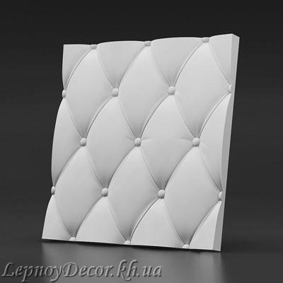 Гипсовая 3D панель «Ретро»