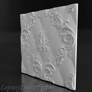 Гипсовая 3D панель «Роскошь»