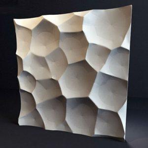 Гипсовая 3D панель «Ракушки»