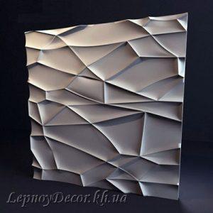 Гипсовая 3D панель «Рок»