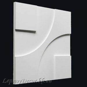 Гипсовая 3D панель «Техно»