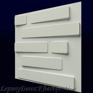 Гипсовая 3D панель «Кладка»