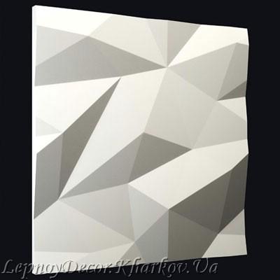 Гипсовая 3D панель «Кристалл»