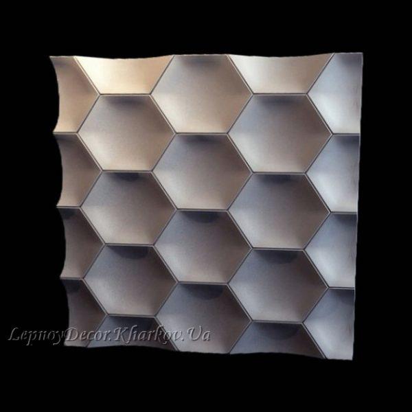 Гипсовая 3D панель «Медовуха»