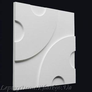 Гипсовая 3D панель «Пуговки»