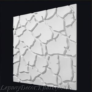 Гипсовая 3D панель «Сахара»