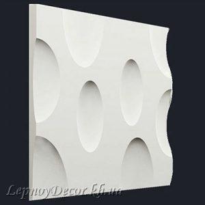 Гипсовая 3D панель «Сыр»