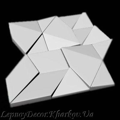 Гипсовая 3D панель «Скала»