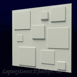 Гипсовая 3D панель «Геометрия»