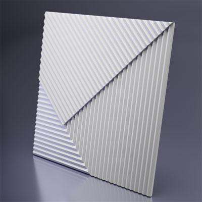Гипсовая 3D панель «Топ-лайнс»