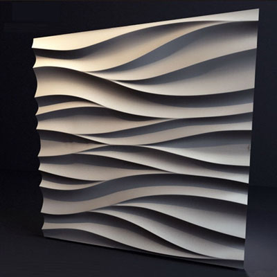 Гипсовая 3D панель «Волна»