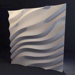 Гипсовая 3D панель «Дюна»