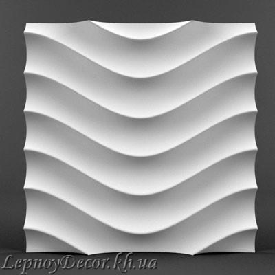 Гипсовая 3D панель «Бриз»