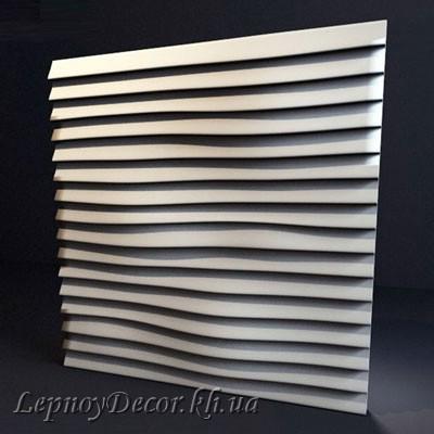 Гипсовая 3D панель «Линии»