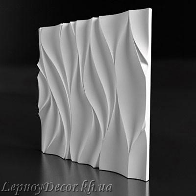 Гипсовая 3D панель «Изабелла»