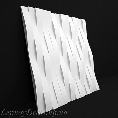 Гипсовая 3D панель «Нью-Йорк»