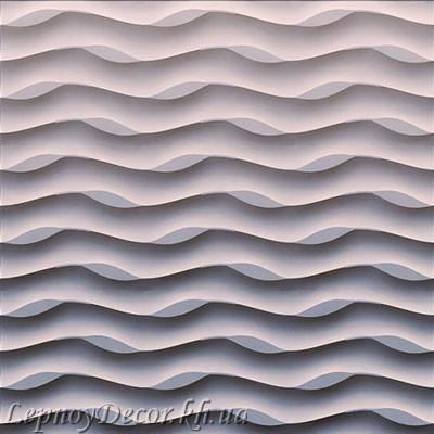 Гипсовая 3D панель «Океан»