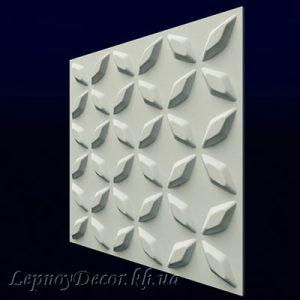 Гипсовая 3D панель «Сапфир»