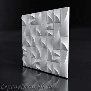 Гипсовая 3D панель «Фреска»
