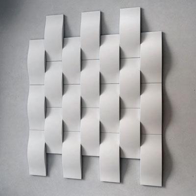 Гипсовая 3D панель «Wave»