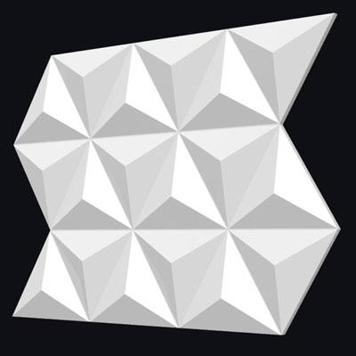 Гипсовая 3D панель «Трианглы»