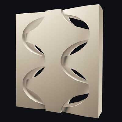 Гипсовая 3D перегородка «Корзина»