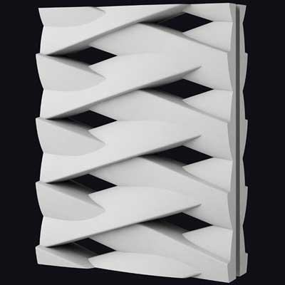 Гипсовая 3D перегородка «Корзина 2»