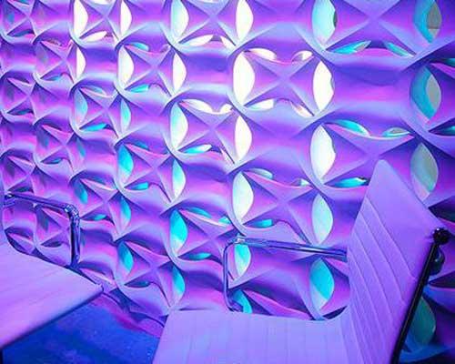Гипсовая 3D перегородка «Лабиринт»