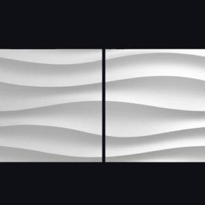 Гипсовая 3D панель «Биг волна»