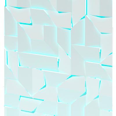 Гипсовая LED-панель «Квест»