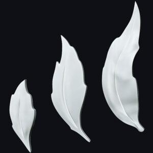 Гипсовая LED-панель «Листья»