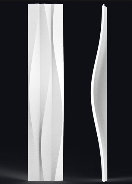 Гипсовая LED-панель «Стрим»