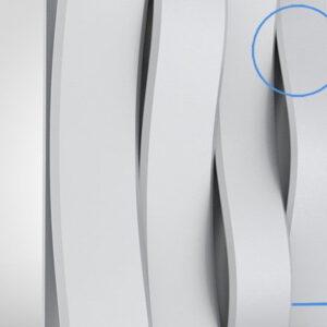 Гипсовая LED-панель «Волна»