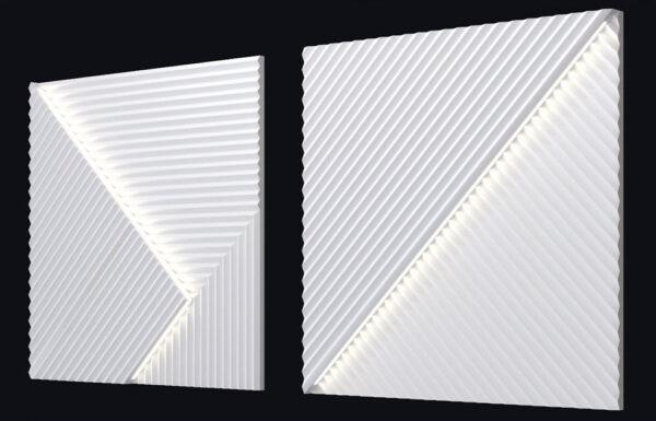 Гипсовая LED-панель «Топ-лайн»